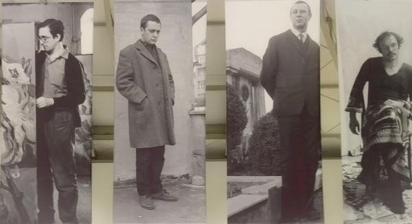 Deichtorhallen, Ausstellung Baselitz, Richter, Polke, Kiefer