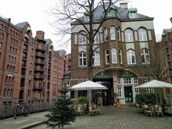 Hamburg Speicherstadt, Wasserschloss, Teekontor