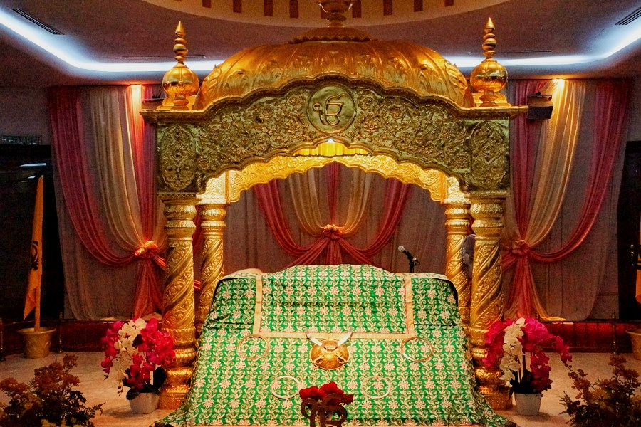 Aufbewahrung der hl. Schrift der Sikhs