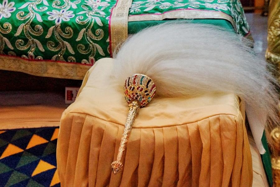 Ritualgegenstand der Sikh Priester
