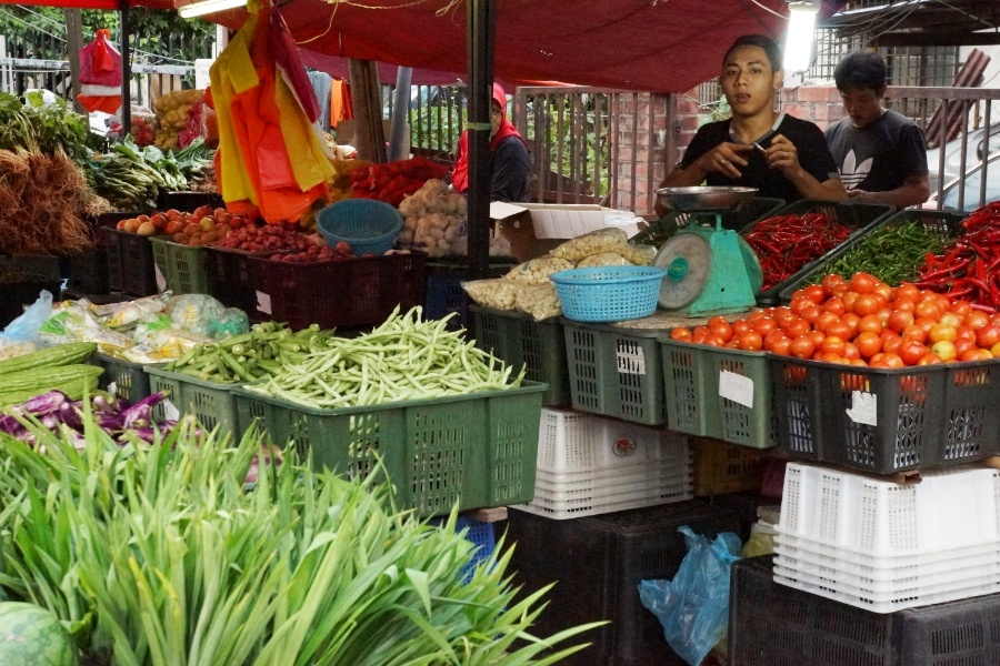 Gemüseangebot Chow Kit