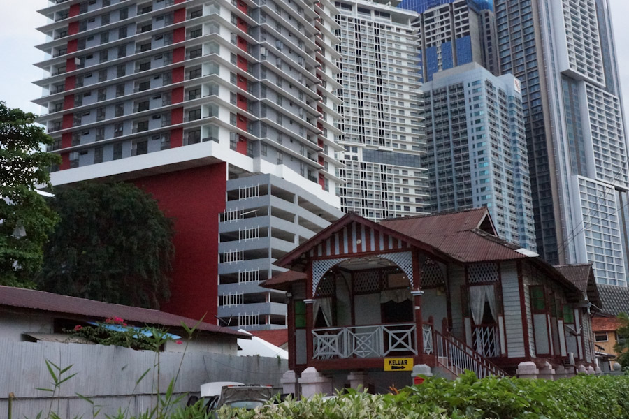 Traditionelles malayisches Haus Kuala Lumpur