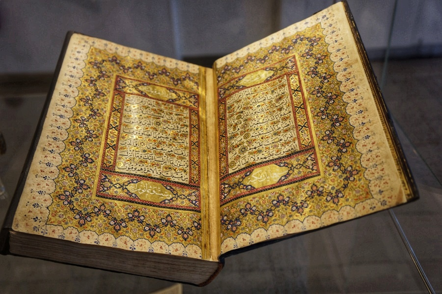Kalligrafie, Koran